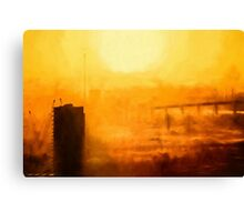 Hot in the City (GO2) Canvas Print