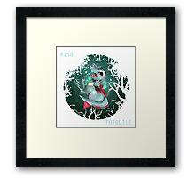starter orb - #158 - totodile Framed Print