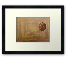 TEMPTING APPLE Framed Print