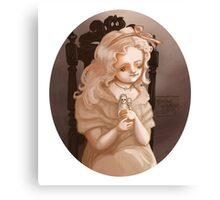 Creepy Girls with Creepy Dolls #2 - Sophie Canvas Print