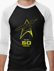 Star Trek 50th Anniversary Men's Baseball ¾ T-Shirt
