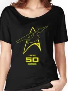Star Trek 50th Anniversary Women's Relaxed Fit T-Shirt