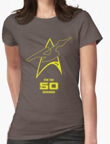 Star Trek 50th Anniversary Womens Fitted T-Shirt