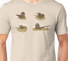 Sparrow Treches! Four Corners Version Unisex T-Shirt