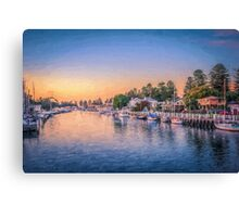 Port Fairy Sunset  (ED1) Canvas Print