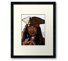 Captain Bean Framed Print