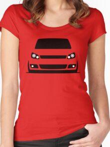 Volkswagen Caddy  Women's Fitted Scoop T-Shirt