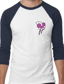 Squeezing Heart- Signature Logo Men's Baseball ¾ T-Shirt