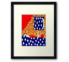 BED OF STARS Framed Print