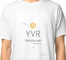 YVR Yellow Classic T-Shirt