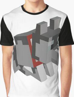 Minecraft Wolf - Minimalism  Graphic T-Shirt