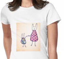 ma & Pooch  Womens Fitted T-Shirt