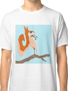 Salvadore Squirrel On His Branch Classic T-Shirt