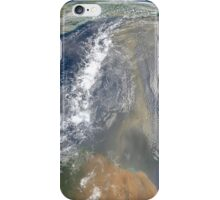 Dust heading west toward South America and the Gulf of Mexico. iPhone Case/Skin
