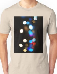 Bokeh lights Unisex T-Shirt