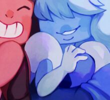 Ruby & Sapphire Sticker