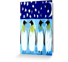 PENGUIN CONVERSATION Greeting Card