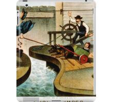 A jolly jumper - Currier & Ives - 1888 iPad Case/Skin