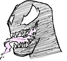 Doodle - Venom Tongue by Rawkie