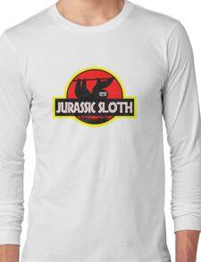 Jurassic Sloth! Long Sleeve T-Shirt