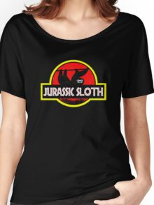 Jurassic Sloth! Women's Relaxed Fit T-Shirt