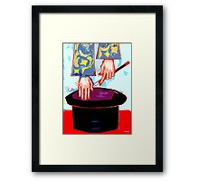 LOVE YOUR MAGIC Framed Print