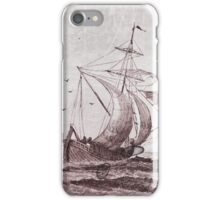 Fair Winds And Following Seas iPhone Case/Skin