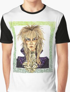 David Bowie Tribute Graphic T-Shirt