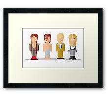 Best of David Bowie Framed Print