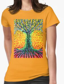 Joyful Tree Womens Fitted T-Shirt