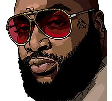 Rick Ross Photographic Print