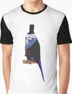 Fancy Budgie Graphic T-Shirt