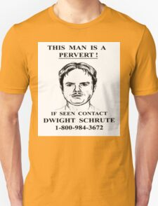 This Man is a Pervert - The Office Unisex T-Shirt