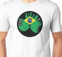 Rio de Janeiro skyline looks like ring Unisex T-Shirt