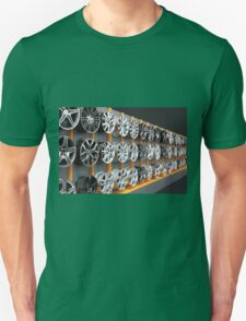 car aluminum wheels Unisex T-Shirt