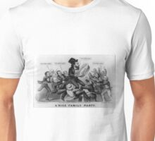 A nice family party - Currier & Ives - 1872 Unisex T-Shirt