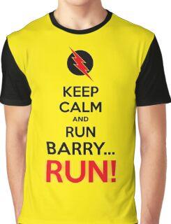 RUN BARRY RUN (The Reverse)! Graphic T-Shirt