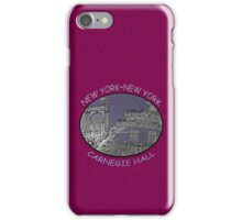 NYC-Carnegie Hall iPhone Case/Skin