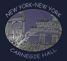 NYC-Carnegie Hall One Piece - Short Sleeve