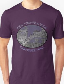 NYC-Carnegie Hall Unisex T-Shirt