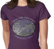 NYC-Carnegie Hall Womens Fitted T-Shirt