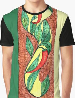 Hot red chili peppers Graphic T-Shirt