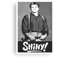 Shiny!! Canvas Print