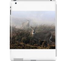 The rut is on! - White-tailed deer  iPad Case/Skin