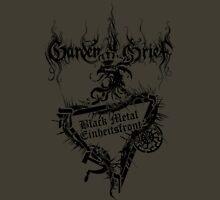 "Einheitsfront Sigil: ""Black Metal Einheitsfront"" & Logo (BLACK) T-Shirt"