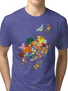 Whispering Rock Psychic Summer Camp Pals Tri-blend T-Shirt