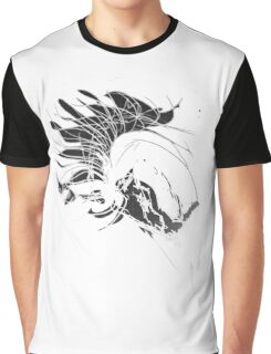 In the Mood, scribbled Graphic T-Shirt