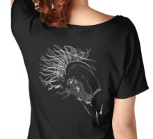 In the Mood, scribbled Women's Relaxed Fit T-Shirt