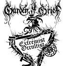 """Einheitsfront Sigil: """"Extremist Occultist"""" & Logo (BLACK) by gardenofgrief"""