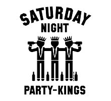 Saturday Night Party-Kings (Black) Photographic Print